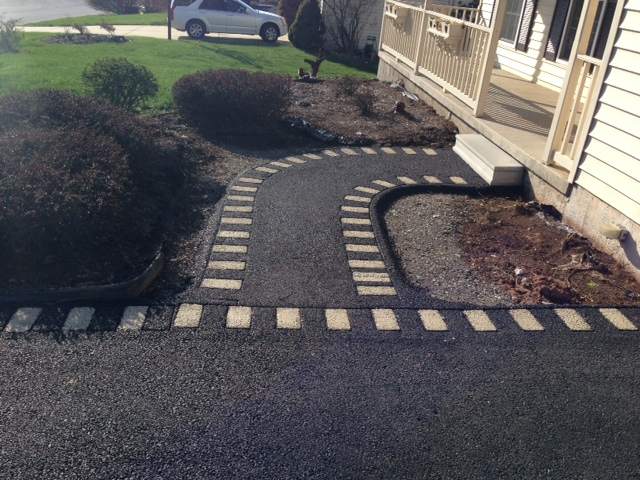 Street Print Decorative Paving System Exclusively By