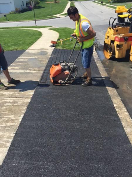 Brick And Concrete Driveway