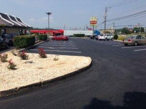 commercial-paving-harrisburg-pa- parking lot paving