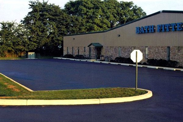 commercial job for asphalt paving contractor york pa
