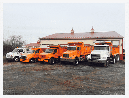 willie's paving company trucks