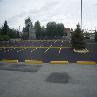 pavement-markings-in-central-pa-commercial-parking-lot