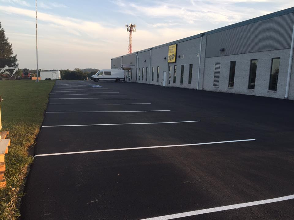 Recent Commercial Paving And Sealcoating Parking Lot Jobs