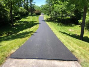 image of some driveway repairs project