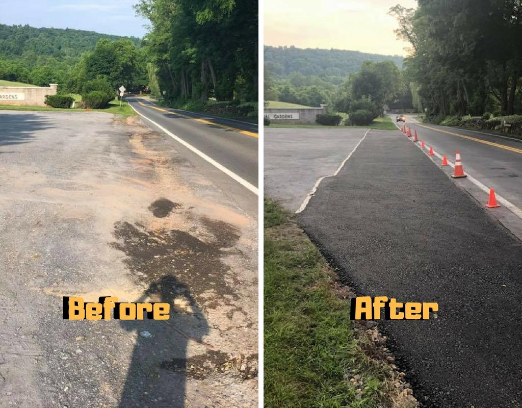 asphalt driveway installation yes