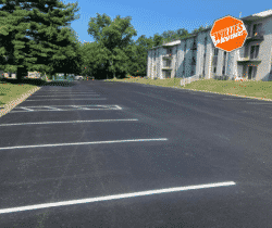 The Process Of Parking Lot Striping Quick And Simple