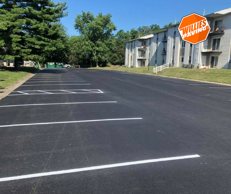 The Process Of Parking Lot Striping