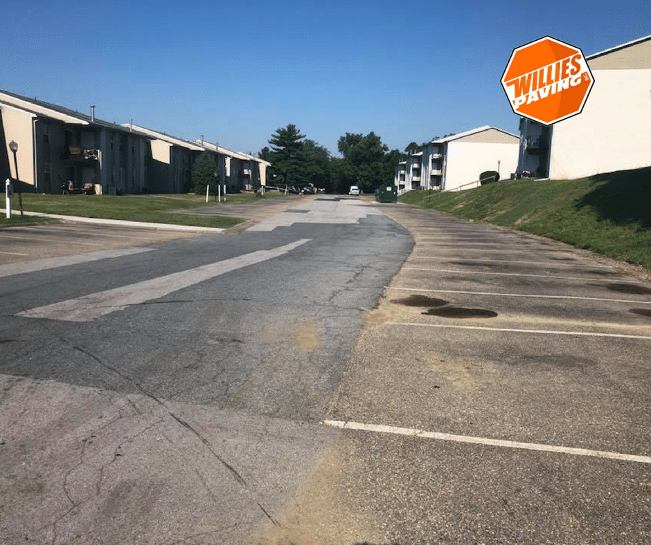 parking lot striping line