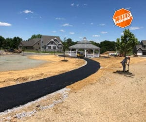 Wrightsville paving services parking lot