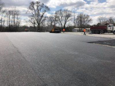 paving contractor carlisle parking lot services