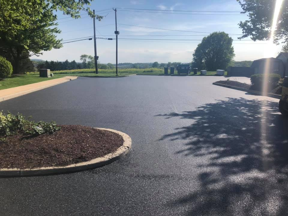driveway paving york pa parking lot seal coating