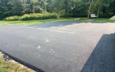 Can you put asphalt over dirt?